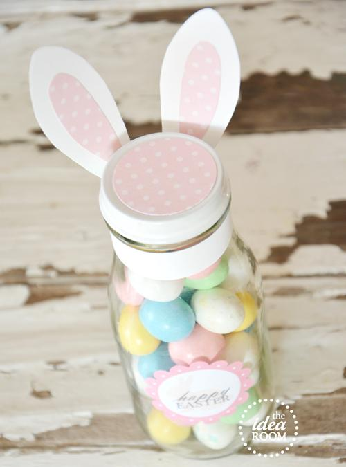 Decorar botellas para Pascua