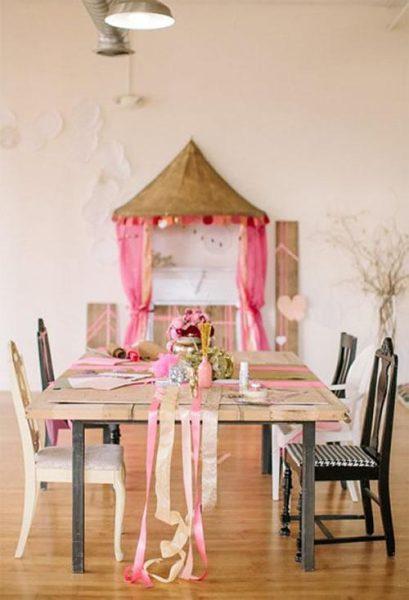 Idea inspiradora para decorar una mesa especial