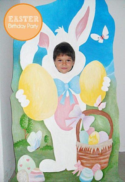 Fiestas de cumpleaños en plena Pascua