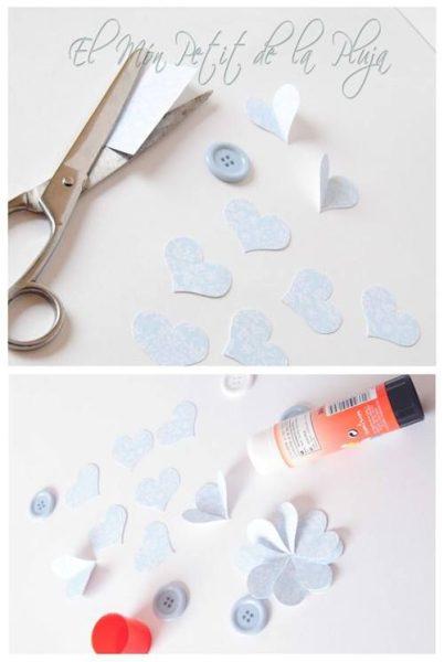 piruletas de papel DIY para decorar fiestas 3