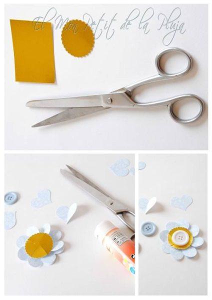 piruletas de papel DIY para decorar fiestas 4
