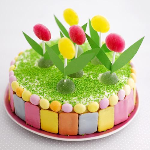 Especial decoración de tartas de cumpleaños