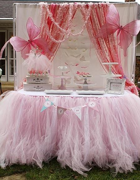 Fiesta infantil de hadas – Pink Fairy