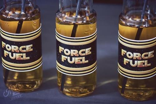 bebidas infantiles Que la fuerza te acompañe
