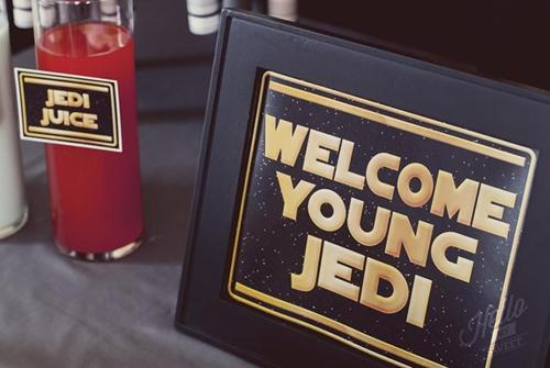 detalles fiesta Star Wars