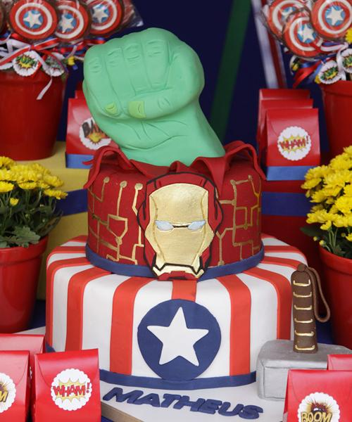 Fiesta infantil de Superhéroes– Los vengadores