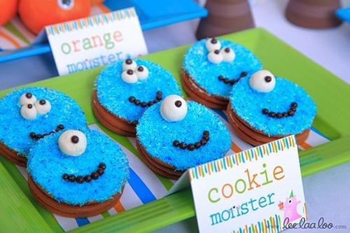 Cookies de Monstruos
