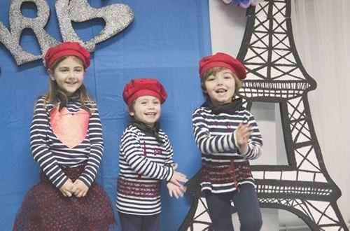 Fiesta infantil Pintores de París