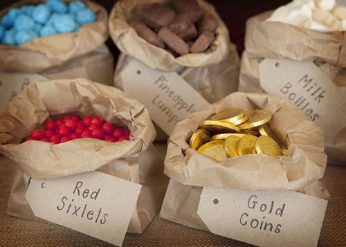 chuches y regalos para Fiestas Piratas