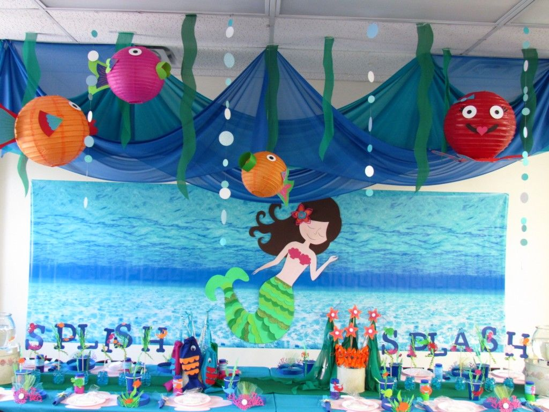 Fiestas infantiles inspiradas en La Sirenita