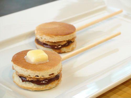 Pancakes pops para merendar