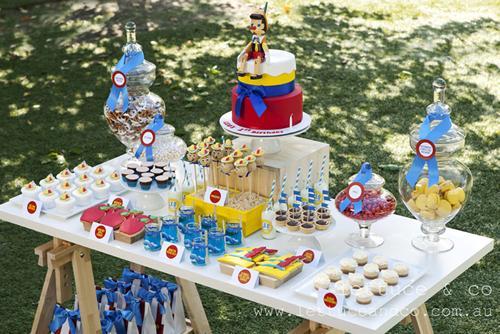 Fiestas infantil con un personaje de cuento, Pinocho