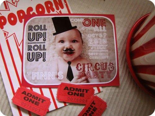 invitación fiesta circo 5