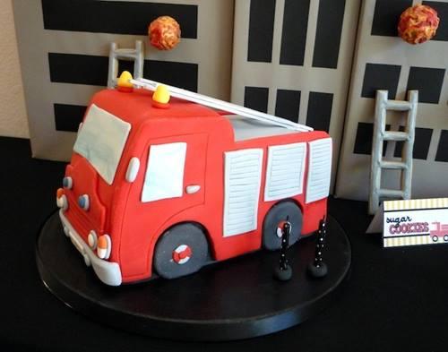 Fiesta de bomberos para niños ¡con llamas y todo! 2