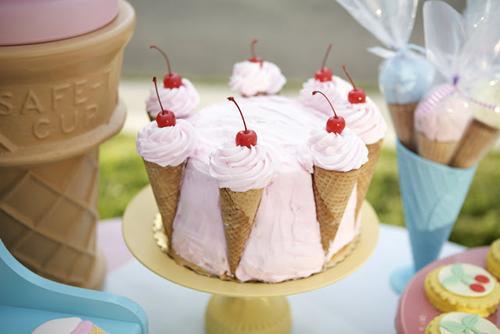 fiestas-infantiles-tarta-vintage-helados2