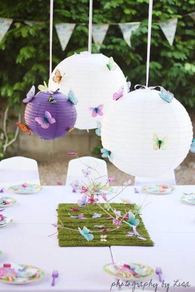mil ideas para fiesta tematica de mariposas vintage 2