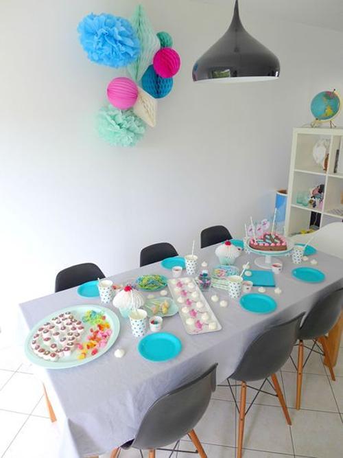fiesta-infantil-tonos -pastel-con-flamencos4