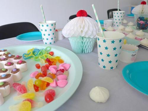 fiesta-infantil-tonos -pastel-con-flamencos6