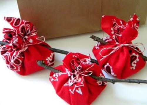 Idea para fiesta temática barbacoa con bandana roja