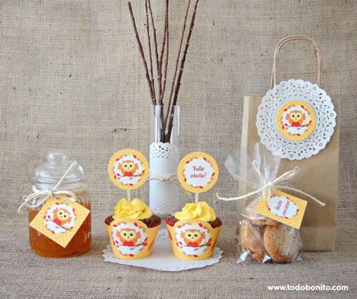 Imprimibles gratis para decorar fiestas de otoño