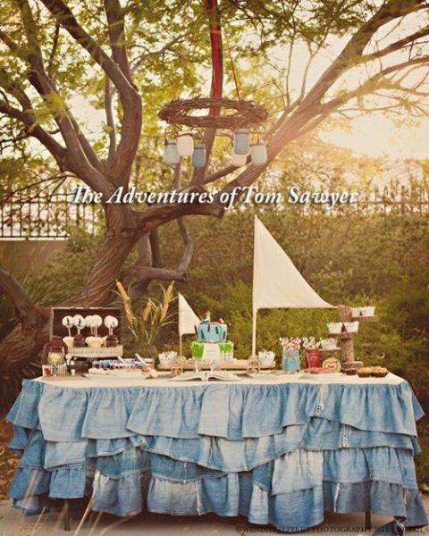 """Increíble fiesta temática """"Las aventuras de Tom Sawyer"""""""