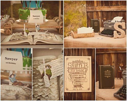 Increíble fiesta tematica las aventuras de tom sawyer 5