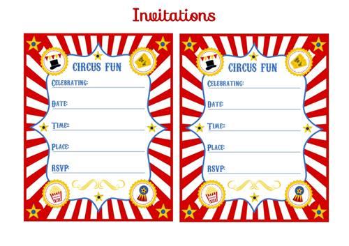 Invitaciones de circo vintage para imprimir gratis circusinvitations-2