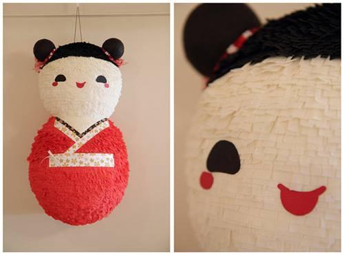 Piñatas artesanales para fiestas infantiles 2