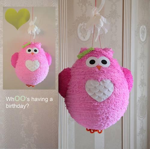 Piñatas artesanales para fiestas infantiles 3