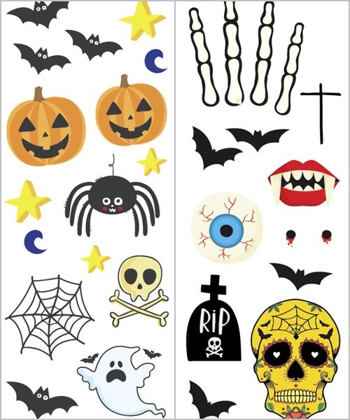 ¡Tatuajes, una idea divertida para tus fiestas Halloween!! 3