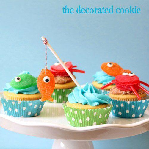 Decoración para cupcakes sencilla de hacer 2