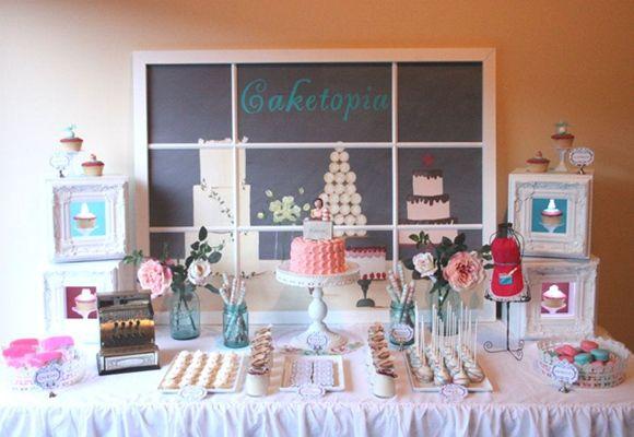 Idea para fiesta temática: Caketopía, la utopía + dulce…