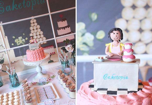 Idea para fiesta temática Caketopía, la utopía + dulce... 2