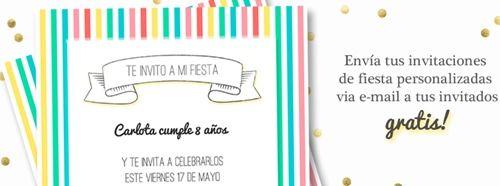 Invitaciones digitales para fiestas con un toque elegante ¡y gratis! 3