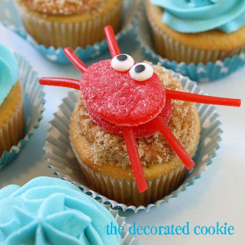 Decoración para cupcakes sencilla de hacer