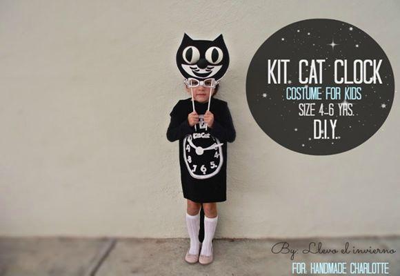 ¡Genial idea de disfraz casero de gato para Halloween!