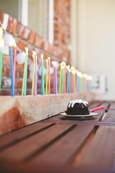 idea para velas en fiestas de cumpleaños 4