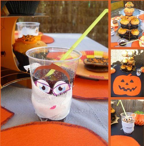Inspiradora decoración de fiestas Halloween para niños