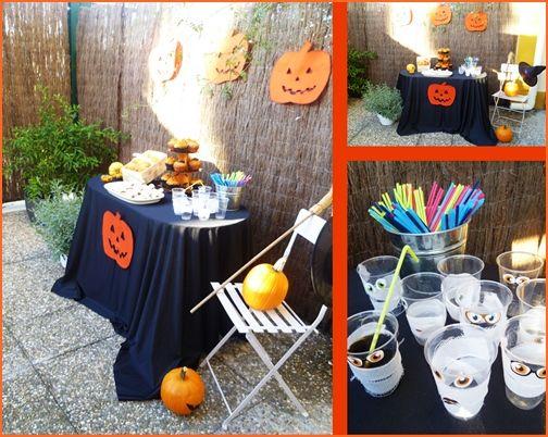 inspiradora decoración de fiestas halloween para niños 2