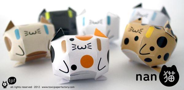 Descargables: muñecos de papel para imprimir y doblar