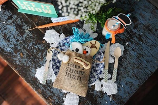Ideas para decorar una fiesta temática Frozen, el reino del hielo 2