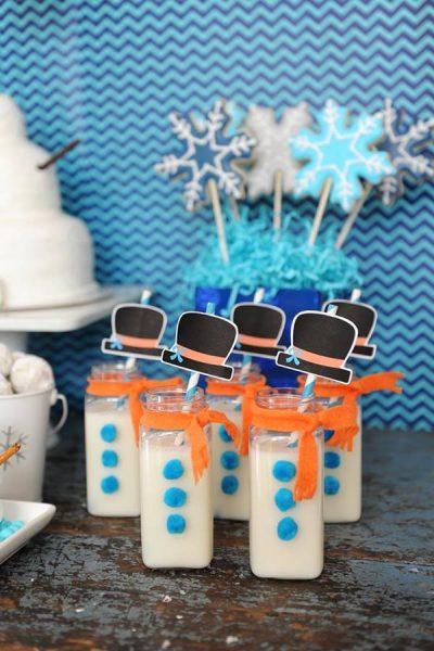 Ideas para decorar una fiesta temática Frozen, el reino del hielo 3