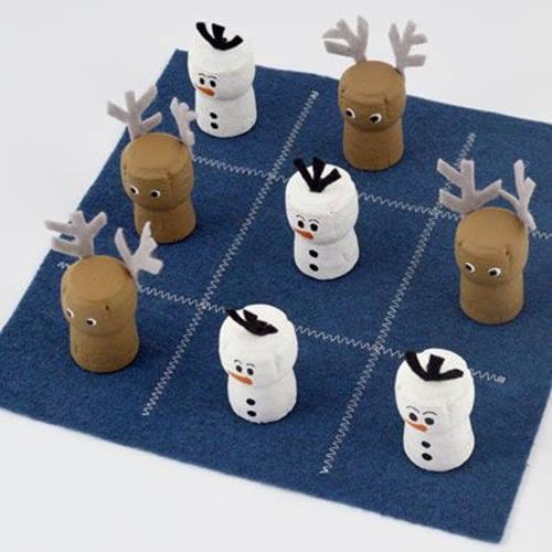 Juegos para niños muy entretenidos: 3 en raya de Navidad