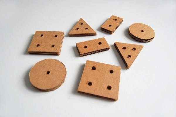 Juguete educativo DIY para encajar piezas  2