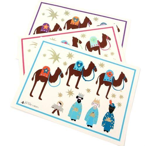 Manualidades para la Navidad con imágenes de los Reyes Magos 3
