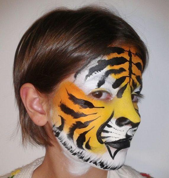 Cómo pintar caras con maquillaje artístico para niños
