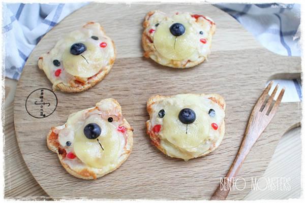 Cocina para niños mini pizzas para fiestas  5