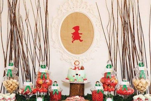 Deliciosa-fiesta-infantil-Caperucita-Roja-