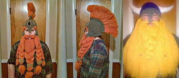 ¿Buscas disfraces caseros originales? Puedes tejer un disfraz de vikingo…
