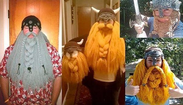 Originales disfraces caseros de vikingo hechos en crochet 2